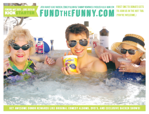 Josh's Hilarious Kickstarter Commercial