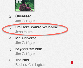 MY ALBUM IS #3 ON iTunes!